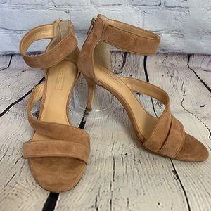ANTONIO MELANI  Suede Heel Sandals - 9 M